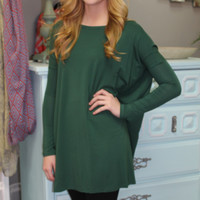 Piko Tunic/Dress, Forest Green