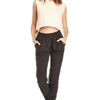 DailyLook: Achro Soft Track Pants in Black M