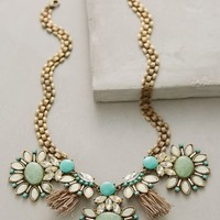 Tasseled Gems Necklace