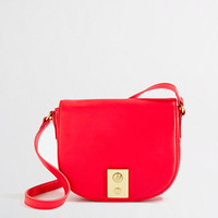 Factory leather crossbody bag