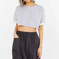 Silence + Noise Drawstring Two-Pocket High/Low Midi Skirt - Urban Outfitters