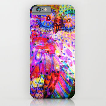 owl iPhone & iPod Case by Haroulita