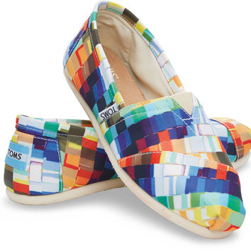 MULTI CANVAS PAINT CHIPS WOMEN'S CLASSICS