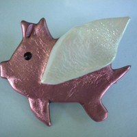 When Pigs Fly Pin, When Pigs Fly Jewelry, Flying Pig Jewelry