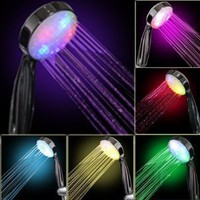 Amazon.com: 7 COLOR LED SHOWER HEAD ROMANTIC LIGHTS WATER HOME BATH: Home & Kitchen