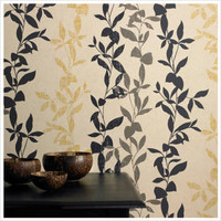 Graham & Brown Aspen Ochre Wallpaper by ECO | All Modern