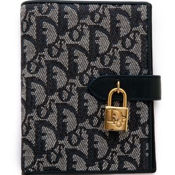What Goes Around Comes Around Vintage Dior Mono Lock Agenda