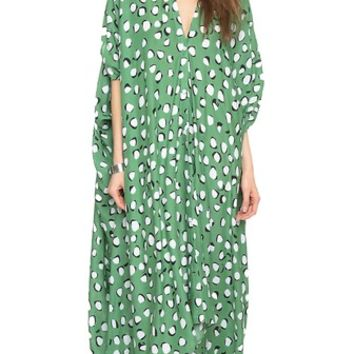 Rodebjer Agave Nut Caftan Dress