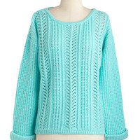 Good Company Sweater in Mint | Mod Retro Vintage Sweaters | ModCloth.com