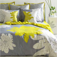 Blissliving Home Ashley Twin Duvet Set in Citron | All Modern