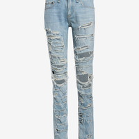 rag & bone/JEAN Thrasher Dre Slim BF at INTERMIX | Shop Now | Shop IntermixOnline.com