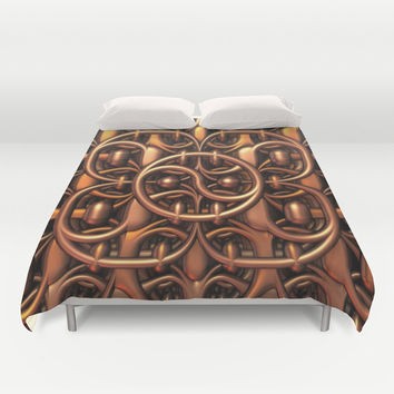 The Gate Duvet Cover by Lyle Hatch