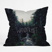 DENY Designs Home Accessories | Leah Flores Wanderlust 1 Throw Pillow