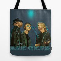 Bee Gee's Tote Bag by Gretzky