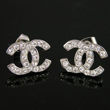 chanel earrings inspired small size