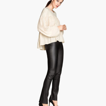 Leather Pants - from H&M