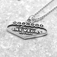 Las Vegas Necklace, Sterling Silver