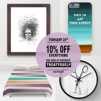 10% OFF Everything! Today only! by eDrawings38 | Society6