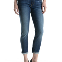 Slim Boyfriend fit 5 Pocket Ankle Denim Jeans