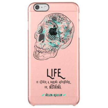 Daring Life Quote iPhone 6 Deflector Case