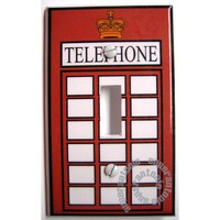 london telephone booth light switch cover free by superantonio
