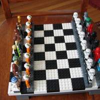 Lego Star Wars Chess Set by poptaba on Etsy