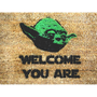 Star Wars Yoda doormat welcome you are mat by damngooddoormats