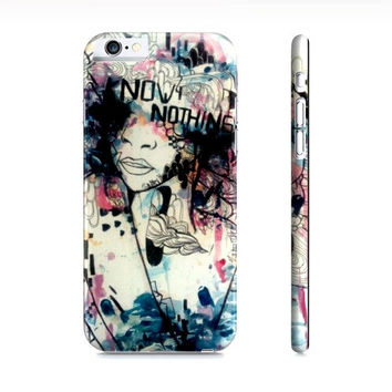 iPhone 6 cover - Case for the iPhone 6 - Girly phone case - Watercolor iPhone 6 case - Phone accessory - Graffiti art - Art Phone case