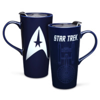 Star Trek 20oz Ceramic Heat Change Travel Mug