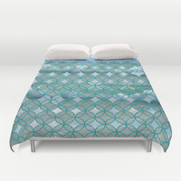 Sea and Sky Duvet Cover by Catherine Holcombe