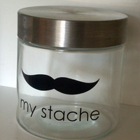 My Stache Vinyl