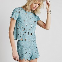 Free People Ketut Short Set at Free People Clothing Boutique