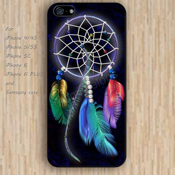 iPhone 6 case dream colorful dream catcher iphone case,ipod case,samsung galaxy case available plastic rubber case waterproof B166