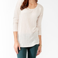 Open Back Sweater Tunic