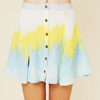 Free People Lemon Drop Circle Skirt