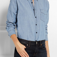Madewell | Cotton-chambray shirt | NET-A-PORTER.COM