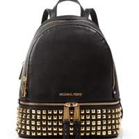 MICHAEL Michael Kors Backpack - Bloomingdale's Exclusive Small Rhea Zip Soft Venus Studded | Bloomingdales's