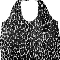 Black&White Leopard Bling Pattern created by OCDesigns_Products   Print All Over Me