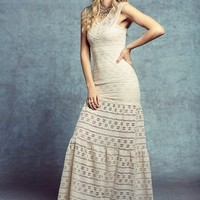 Free People Cherokee Diamond Gown