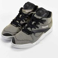 Reebok Court Victory Pump Tech Sneaker- Black