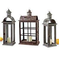 Home Decor - Lantern Set of 3