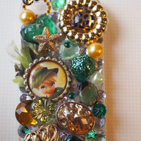 Tinkerbell of the Woods Custom Case for iPhone 4/4s