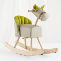 The Land of Nod: Kids Ride-On: Sprout Rocking Horse in New Toys and Gifts
