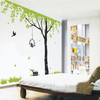 Tree Wall Decals wall stickers Kids wall decal room decor wall decor baby nursery wall decal  - Giant tree