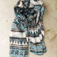 Native Rivers Scarf [3333] - $16.00 : Vintage Inspired Clothing &amp; Affordable Fall Frocks, deloom | Modern. Vintage. Crafted.