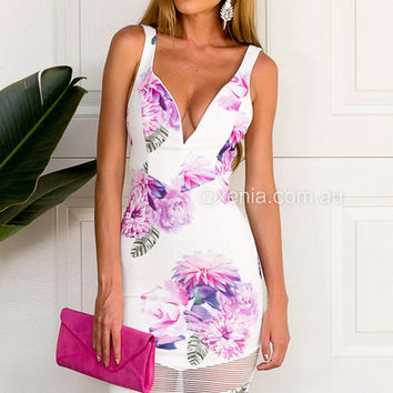 Blooming Flowers Dress | Xenia Boutique