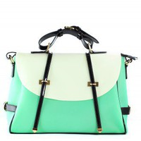 Mint Candy Color Foldover Jelly Bag - Bags - Goods - Retro, Indie and Unique Fashion