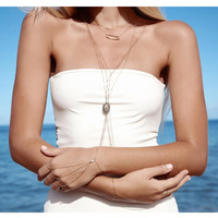 Tantalus Raw Diamond Body Chain