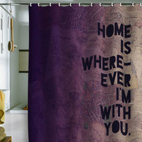 DENY Designs Home Accessories | Leah Flores With You Shower Curtain
