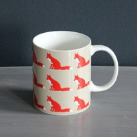 Foxes Mug